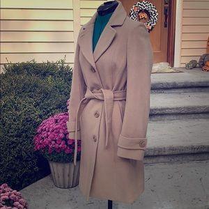 Ann Klein Cashmere wool blend coat size 4